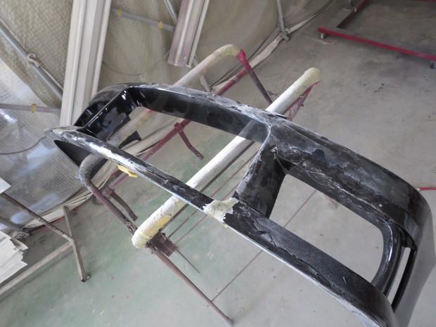 シルビア(FRPエアロバンパー修理) (10).JPG
