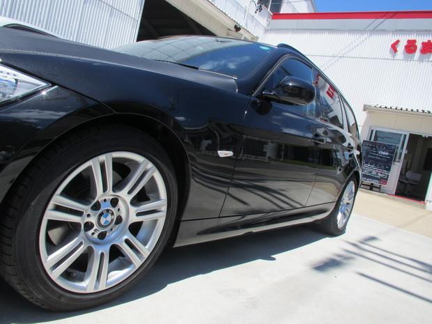 ホイール塗装(マットブラック)BMW3シリーズ (1).JPG